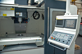 CNC Machine Control Panel