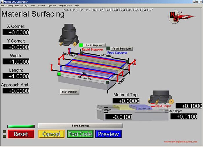 Surfacing Mach3 Add-ons