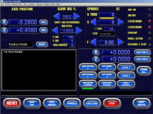 Blue Screenset for Lathes