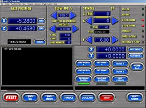 Silver/Blue Screenset for Lathes