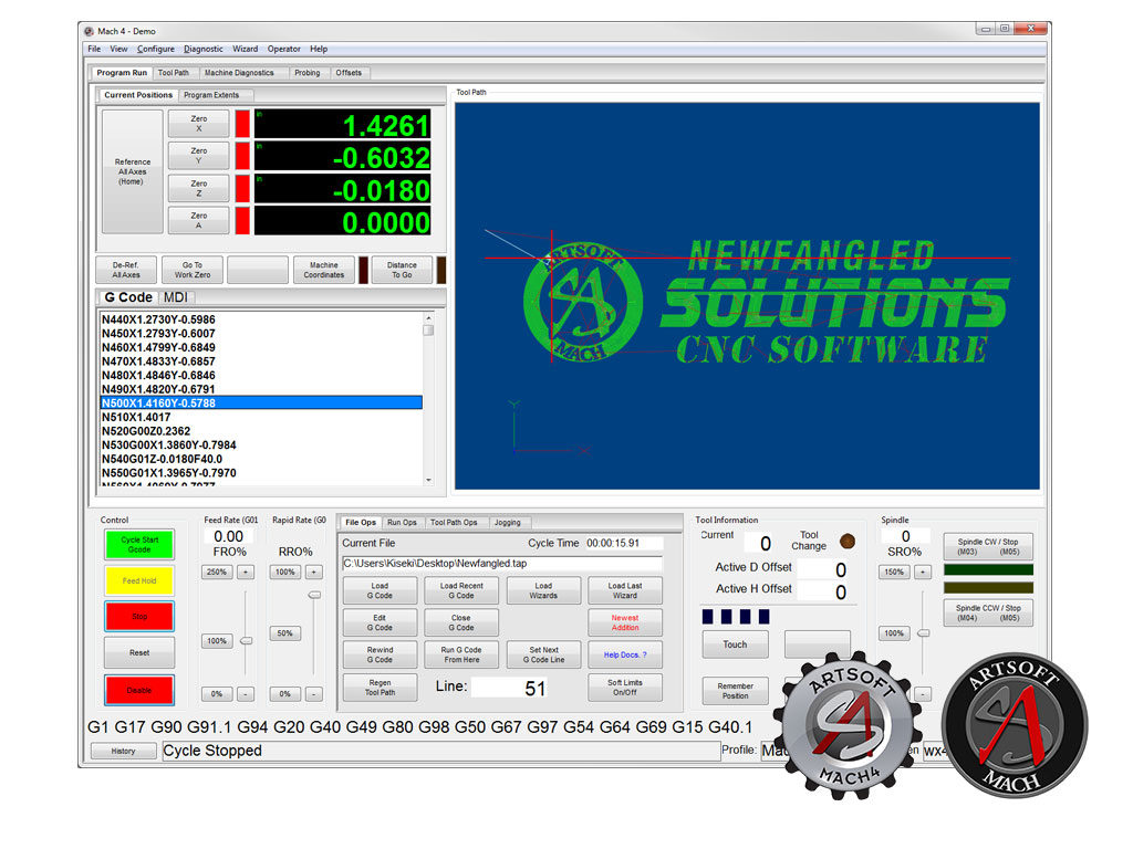 MAch4 Hobby Engineering Software